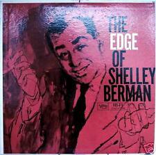 THE EDGE OF SHELLEY BERMAN-M1960LP COMEDY CLASSIC
