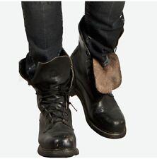 Men Military Lace Up Boots, Men Combat Leather Boots, Men Military forces Boots