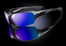 "Men's Sport Wraparound 100% UV 400 Sunglasses ""Cyclone"""