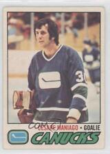 1977-78 O-Pee-Chee #23 Cesare Maniago Vancouver Canucks Hockey Card