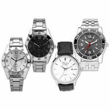 Armbanduhr Set mit Wechselarmband Damen Herren Qualitätsquarzwerk Metallgehäuse