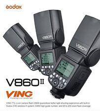 Godox V860II 2.4G TTL Li-on Battery Camera Flash Speedlite for Canon Nikon Sony