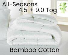 Toutes les saisons (4.5 + 9 Tog) Bambou Coton Luxe Hypo-allergénique Couette-Tou...