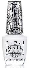 OPI NAIL POLISH E54 White shatter 15ml White Creme shatter