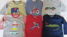 bimbi BODEN Top con maniche lunghe maglietta vari motivi trike- car-plane