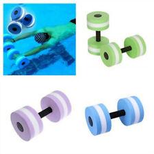 Aquatic Exercise Dumbells EVA Water Barbells Hand For Water Resistance Aerobics