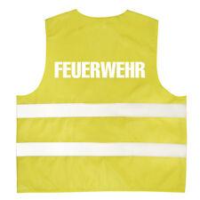 Kinder Warnweste reflektierend Weste 3-12 J. Karneval Fasching Feuerwehr 11702