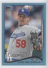2014 Topps Wal-Mart Blue #623 Chad Billingsley Los Angeles Dodgers Baseball Card