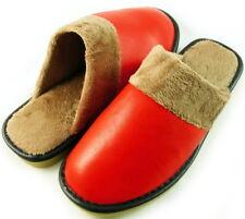 Handmade Genunie Leather Slipper Mens Shoes 8.5 - 9