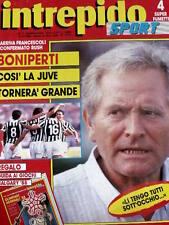 Intrepido 7 1988 Boniperti così la Juve tornerà grande