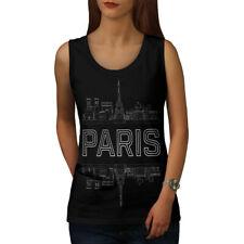 Paris City Design Women Tank Top NEW | Wellcoda