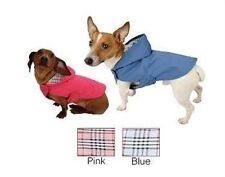 Dog Coat Jacket Water Resistant Plaid Lining Large - Pick Color