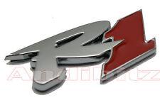 Moto Bicicleta 3d Cromo Rojo Yamaha R1 Self Adhesive Stick en Insignia Emblema calcomanía