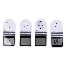 Digital Electrical Timer Plug Socket Weekly Programmable Light Switc .,