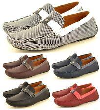 NEU Herren lässig Driving Loafer Mokassins Slipper verfügbar UK Größen 6-11