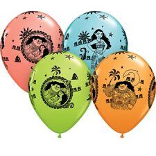Disney Moana Party Helium Quality Latex Balloons Birthday Maui Pua