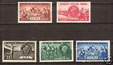 ROMANIA # 759-63 Mint VARIOUS ACTIVITIES SPORTS BADGE