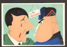 MUSSOLINI & HITLER / SATIRIQUE / GUERRE 1939-1945