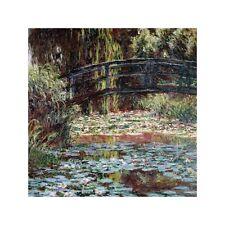 Quadro su Pannello in Legno MDF Claude Monet Le bassin aux nympheas a Giverny