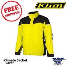 2017 Klimate Parka Green Men's Snowmobile Jacket Sizes: MD, LG, XL