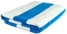 Cabana Beach Towel 100% Turkish Cotton Velour XL Extra Large Oversized