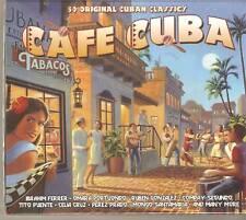 CAFE CUBA 50 ORIGINAL CUBAN CLASSICS 2 CD BOX SET