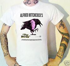 LES OISEAUX T-shirt Hitchcock horreur TIPPI HEDREN ROD TAILLEUR