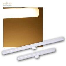 S14D LED Lampe tubulaire source d'éclaraige 30/50cm blanc chaud AMPOULE tubes