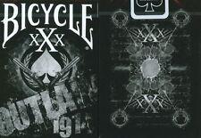 Carte da gioco BICYCLE XXX OUTLAW 1914,poker size