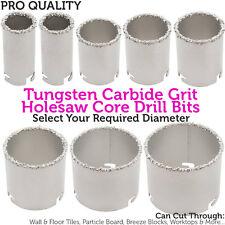 33mm Diameter Tungsten Carbide Grit Core Drill Bits–Wall/Floor/Tile Hole Cutter