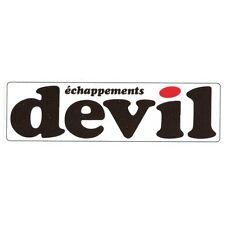 DEVIL échappements Sticker