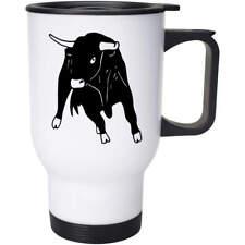 'Charging Bull' Ceramic Mug / Travel Cup  (MG019224)