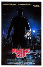 Maniac Cop 1988 Slasher/Thriller Movie POSTER
