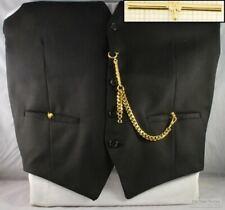 Albert pocket watch chain w/ cuff-detail t-bar; various finish options