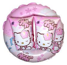 Hello Kitty Kinder Schwimmhilfe Schwimmflügel Schwimmreifen Schwimmring Pink NEU