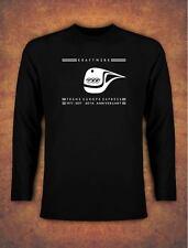 40th Anniversary KRAFTWERK TRANS EUROPE EXPRESS RETRO T-shirt Long Sleeve Black