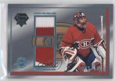2003 Luxury Suite Platinum Blue Jersey/Patch 12 Jose Theodore Montreal Canadiens