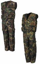 ROPA DE Niños VERANO Pantalones Joven Chaleco Chaqueta Ejército camuflaje