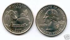 ETATS UNIS @ QUARTER DOLLAR DE WISCONSIN 2004 P USA