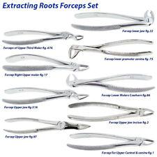 Extracción quirúrgica Dentales Fórceps Extracción Dental Superior Inferior raíz anterior CE