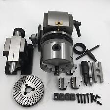 Precision Dividing Head BS-0 BS-1 & 3Jaw Chuck & Tailstock & Dividing Plates CNC