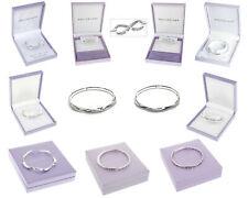Equilibrium Silver Plated Sentimental Message Bracelet Bangle Friend Gift Box