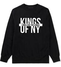 Kings of NY Long Live The King Crewneck Sweatshirt New York Brooklyn Rock Style