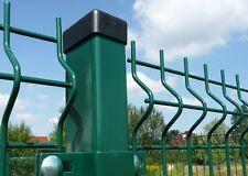 Zaun 3D Gittermattenzaun Gartenzaun mit Pfosten