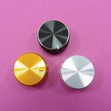 3 colours 26x17mm Aluminum Potentiometer Knob for 6mm Shaft Control Cap Plastic