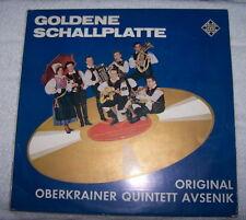 LP: Goldene Schallplatte - Original Overkrainer Quintett Avsenik (Polka)