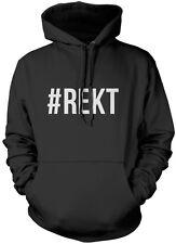 #REKT Hashtag Wrecked  Unisex Hoodie