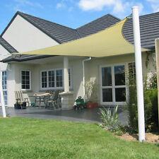 Sonnensegel Sonnenschutz Regenschutz Rechteck -Quatrat - Dreieck Wasserabweisend