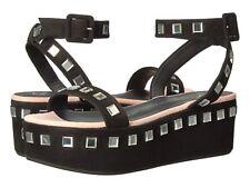 Giuseppe Zanotti E70200 Women's Sandals HIGH-HEELED PLATFORM LEATHER BLACK