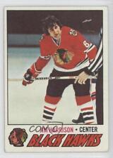 1977-78 Topps #243 Jim Harrison Chicago Blackhawks Hockey Card